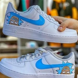 air force 1 rick and morty